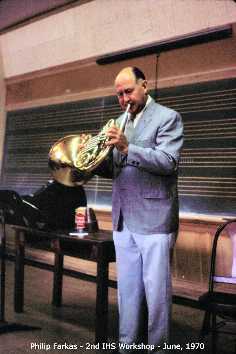 Philip Farkas and Solo Recordings – James Boldin's Horn World
