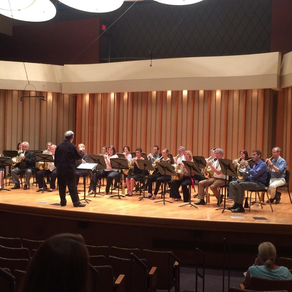 University of Wisconsin-Madison Alumni Ensemble Performance. Douglas Hill, conductor